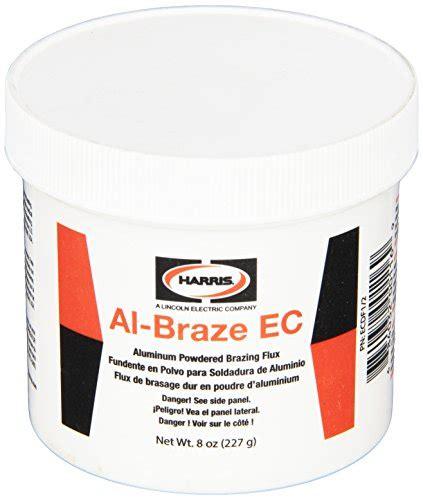 Flux Aluminium Al Braze Harris harris ecdf1 2 al braze ec powder flux 1 2 lb jar general