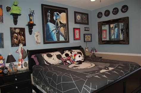 gorgeous nightmare before christmas bedroom decor on