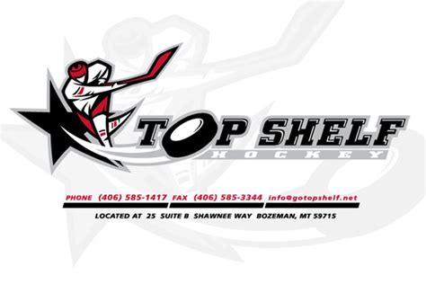Top Shelf by Top Shelf Hockey Valley Garden Bozeman Mt