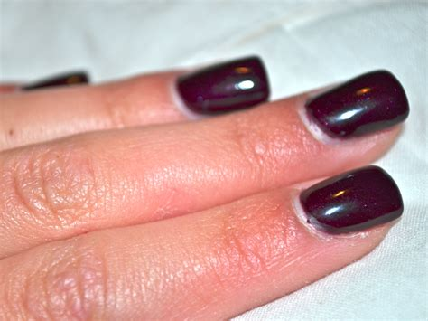 october nail color by michaela christine october nail color black cherry
