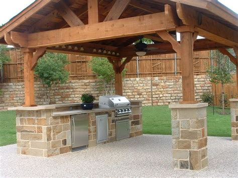 affordable outdoor kitchen ideas inexpensive outdoor kitchen ideas inspiring photo above