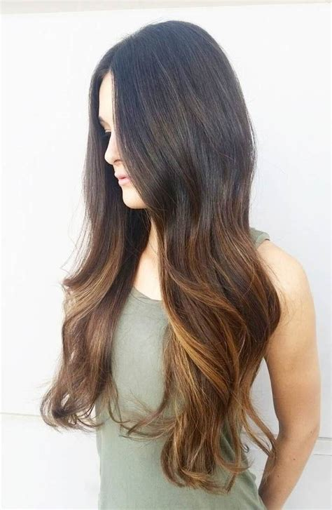 balayage highlights on dark brown hair 60 balayage hair color ideas with blonde brown caramel