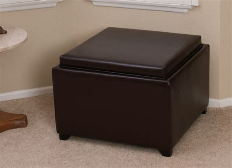 Espresso Ottoman Storage Espresso Leather Storage Ottoman Home Design Ideas