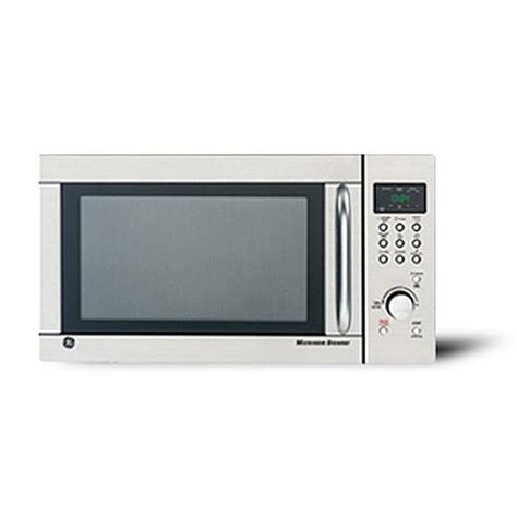 Ge Microwave Countertop by Ge 1 3 Cu Ft Stainless Steel Countertop Microwave Oven