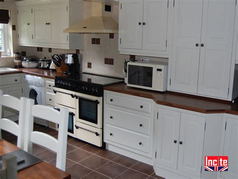 Handmade Painted Kitchens - handmade painted fitted kitchen incite interiors derby
