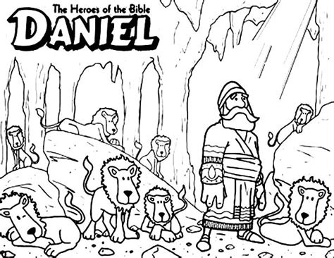 The Judas Sheep Large Print 16pt daniel the bible heroes coloring page netart