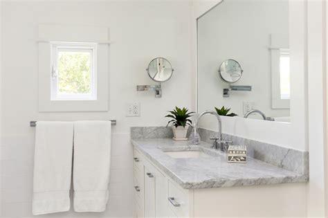 swing arm shaving mirror traditional bathroom amy