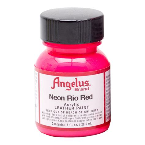 angelus paint neon buy angelus leather paint 1 oz neon