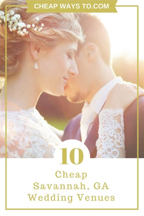 cheap wedding packages in ga outdoor wedding guides