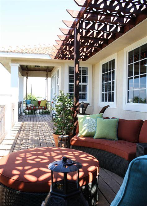 baroque porch swing cushions  porch mediterranean