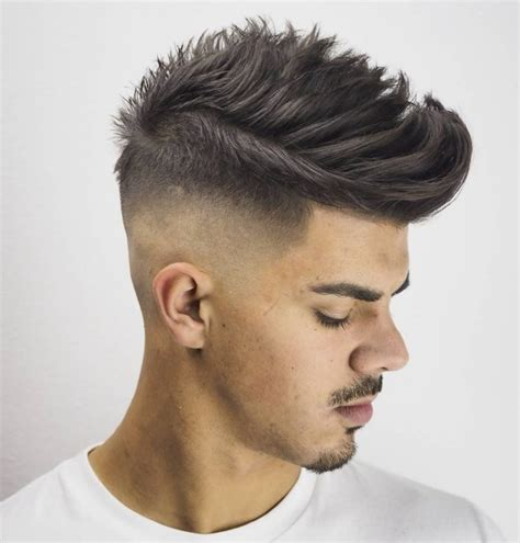 haircut for balding men with ambarberia textured pompadour