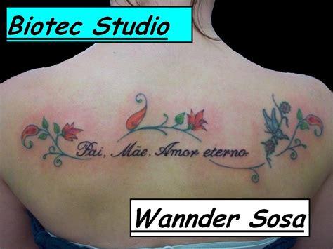 amor tattoo biotec studio e piercing pai me eterno