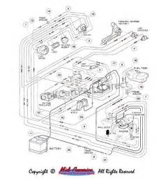 reducer diagram club car golf cart wiring