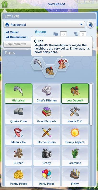 mod the sims robot traits 5 flavors mod the sims unlocked lot traits