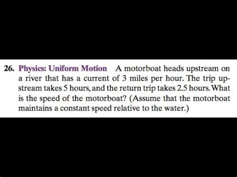 a motorboat heads upstream on a river that has a current - Motorboat Heads Upstream