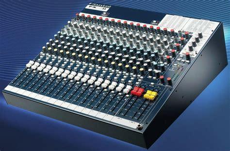 Mixer Soundcraft Fx16ii newest soundcraft mixing consoles sport lexicon processors