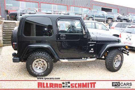 Jeep 4 0 L Horsepower 2002 Jeep Wrangler 4 0l Car Photo And Specs