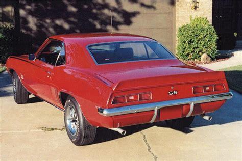 Cdn Coupe For Air Original 100 1969 Chevrolet Camaro Ss 2 Door Coupe 116248