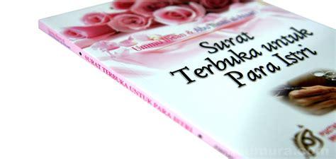 Surat Terbuka Untuk Para Istri Pustaka Imam Syafii buku surat terbuka untuk istri toko buku islam