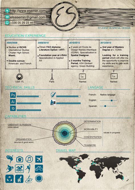 curriculum vitae design jobs 50 awesome resume designs that will bag the job hongkiat