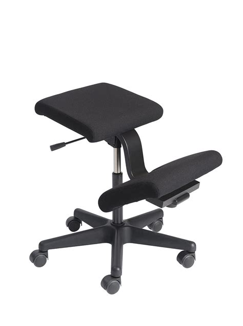 best portable chair for bad backs mobile kneeling chair with height adjustment varier wing