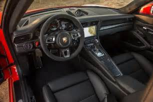 Porsche 911 Turbo Interior 2017 Porsche 911 Turbo S Interior View Motor Trend