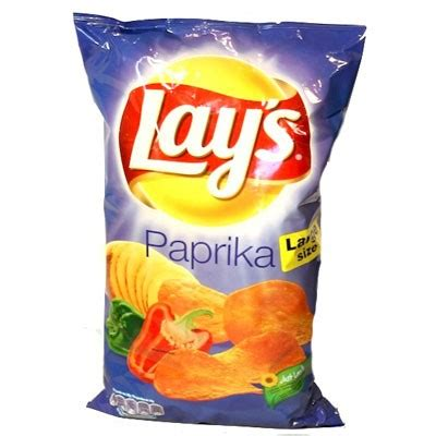 Lay's Paprika Chips   Snacks   Food   The Dutch Shop online