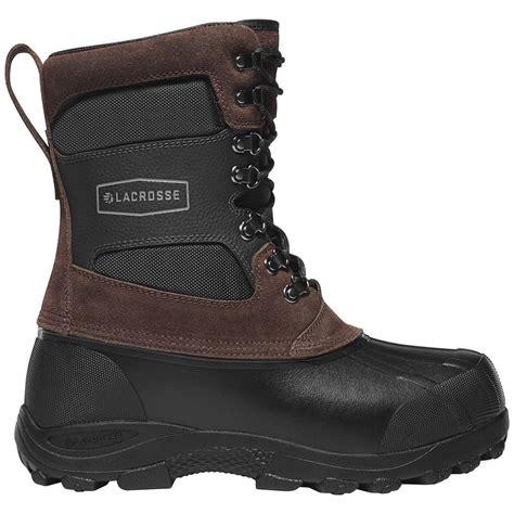 la crosse boots lacrosse 11 quot outpost ii boots brown 614549 winter