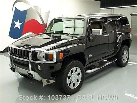 how to fix cars 2009 hummer h3 navigation system buy used 2009 hummer h3 h3x 4x4 sunroof nav rear cam 18 s 27k mi texas direct auto in stafford