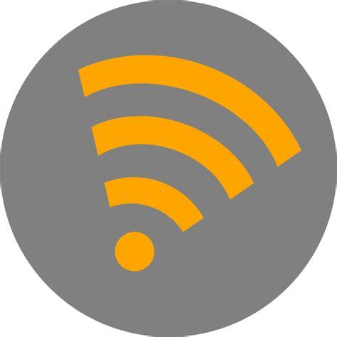 Wifi Orange wifi orange clip at clker vector clip royalty free domain