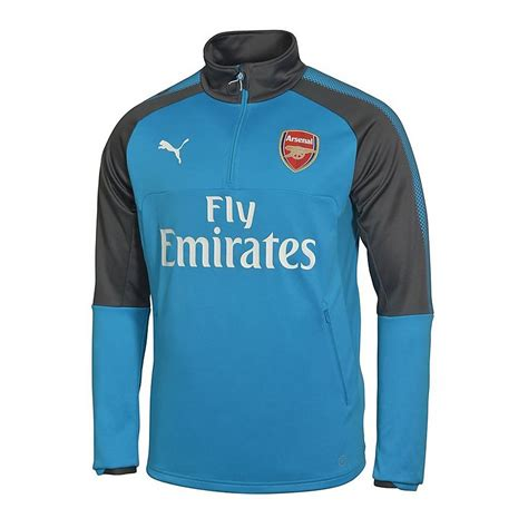 arsenal zip training top arsenal 17 18 kid s away training top official online store