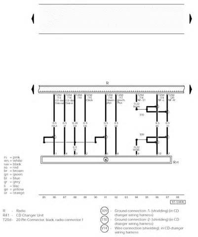 2002 audi a4 quattro a correct raido wiring diagram