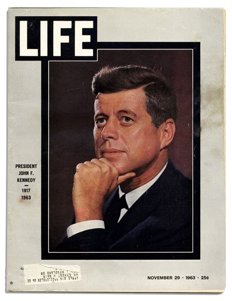 john f kennedy detailed biography lot detail life magazine covering the assassination