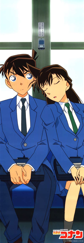 Dompet Fullprint Anime Detective Conan 名探偵コナン 工藤新一 毛利蘭 壁紙 tsundora