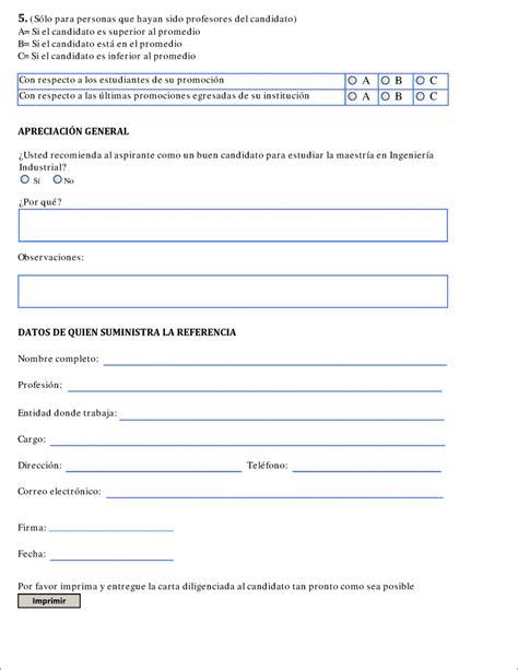 modelo carta recomendacion personal 2 modelo carta recomendacion personal 2