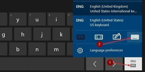 keyboard layout in windows 10 add standard full keyboard layout to touch keyboard in
