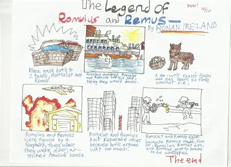 the comic book story of professional a high flying no holds barred history of the one true sport 7th grade the legend of romulus and remus