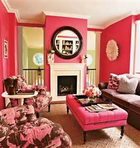 callan bold red living room