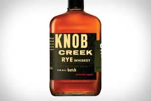 knob creek rye whiskey uncrate