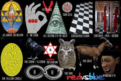 illuminati signs with number 666 gematriacodes