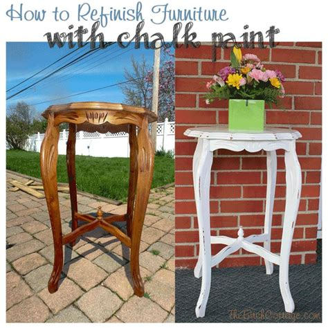 how to refinish furniture with chalk paint furniture