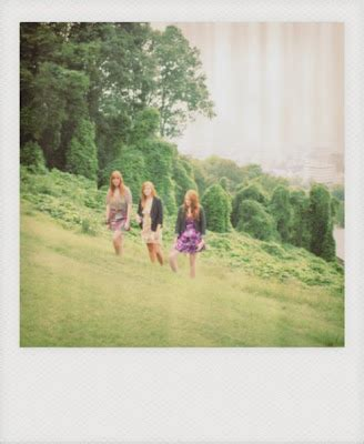 the webb sisters: polaroids make everything look cooler...