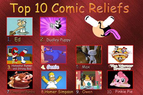 top 10 comics top 10 comic reliefs meme 1 by dajoestanator on deviantart
