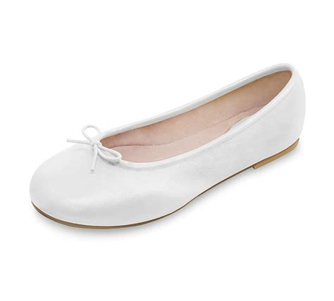 white flat ballet shoes simple ballet flats white shoes collection 2