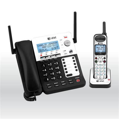 at t sb67118 4 line corded cordless intercom paging