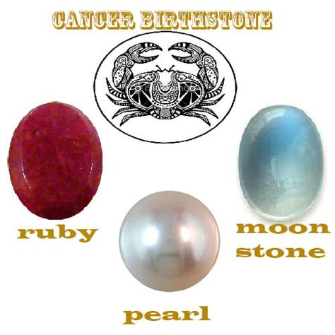cancer colors zodiac 3 best gemstones as cancer birthstone for june and july