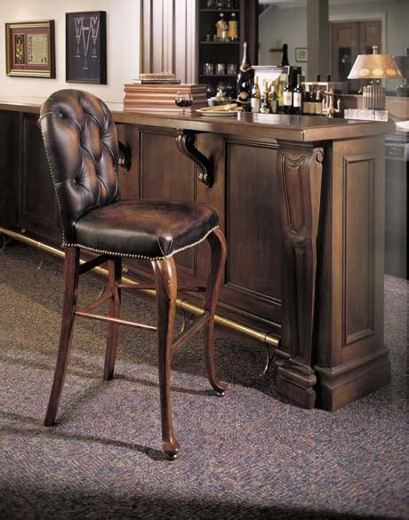 Chesterfield Leather Bar Stools by Wainwright Chesterfield Leather Bar Stool Furniture