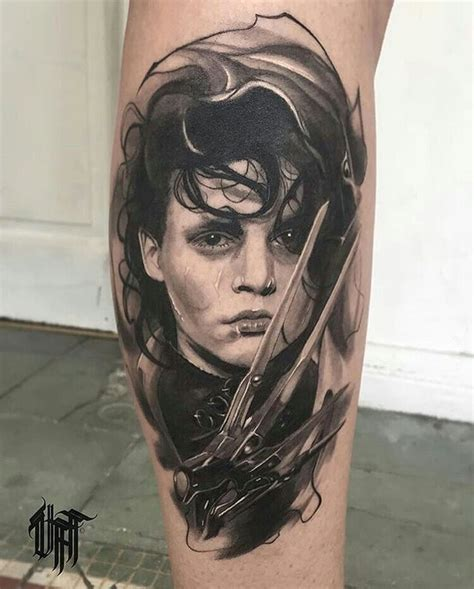 edward scissorhands tattoo 775 best images about tattoos on astronauts