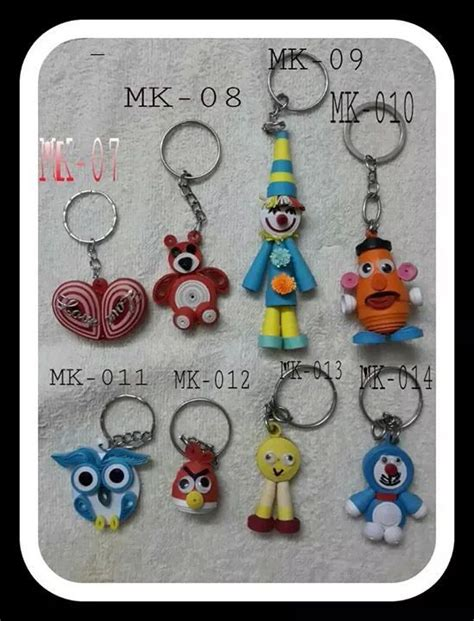 How To Make Paper Keychains - 33 best quilling chaveiro images on quilling