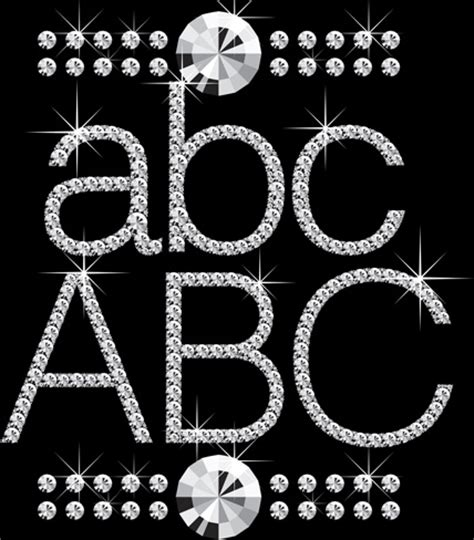 diamond pattern font shiny diamond letters vector free vector in encapsulated